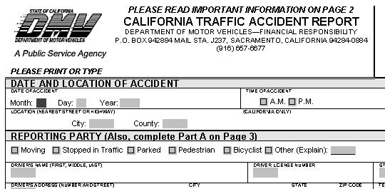 Ca Dmv Motor Vehicle Report « Vehicle MMO Games List